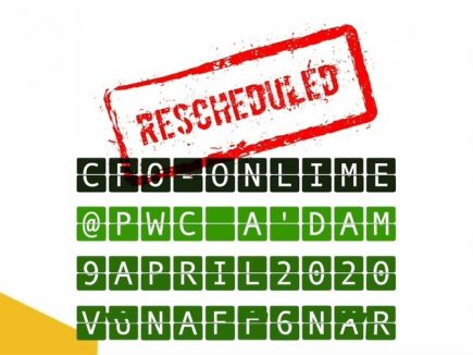 CFOonLIME | PwC | 9 april 2020 | RESCHEDULED